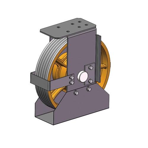 FN-JDIL-001 轿底轮部件